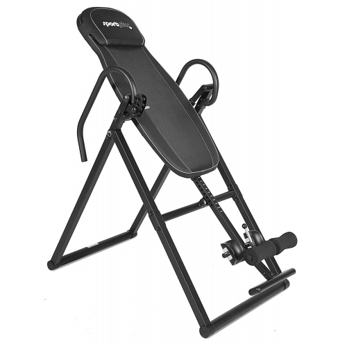 SportPlus Inversion table/Gravity trainer inversinis stalas, juodas