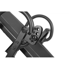 SportPlus Inversion table/Gravity trainer inversinis stalas, juodas
