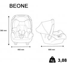 Nania BeOne SP automobilinė kėdutė, Grey Plat